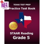 【中商海外直订】Texas Test Prep Practice Test Book Staar Reading Gr