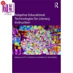 【中商海外直订】Adaptive Educational Technologies for Literacy Inst