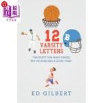 【中商海外直订】12 Varsity Letters