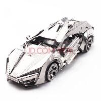 手工车类3D金属模型立体拼图DIY拼插拼装创意玩具高难度抖音