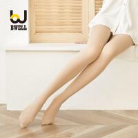 BWELL 蕾丝花边石墨烯暖宫防滑修身塑形女士打底连裤袜