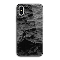 冷淡风网红个性潮流苹果x镜面玻璃手机壳iphone 7 6s 8 plus外壳 iPhone X