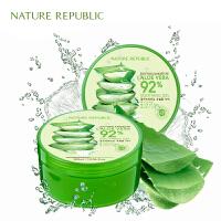 Nature Republic 纳益其尔 芦荟胶舒缓保湿凝胶300ml 保湿补水面膜晒后修复