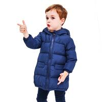 儿童中长款冬季宝宝外套棉服男孩女孩
