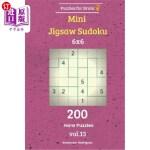 【中商海外直订】Puzzles for Brain - Mini Jigsaw Sudoku 200 Hard Puz