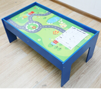 木质托马斯小火车轨道套装磁性电动车头3-5-7岁男孩积木儿童玩具