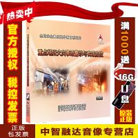 2019版重点场所火灾事故警示与有效防控(2DVD)安全月警示教育片视频光盘碟片