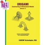 【中商海外直订】Origami: Constructing 3-Dimensional Models