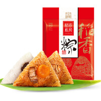 稻香私房端午节粽子1080g蛋黄鲜肉大黄米蜜枣粽八宝粽子袋装