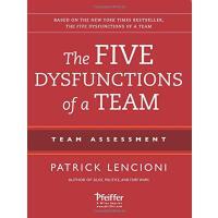 【现货】英文原版 团队协作的五大障碍 团队评估配套手册 The Five Dysfunctions of a Team:
