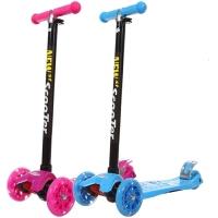 闪光宝宝滑滑车踏板车2-3-6-14岁扭扭车童车婴儿车四轮滑板车