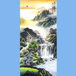 中国美协会员,中国书协会员,龙云书画院院长候桂峰(泰山福居图)1