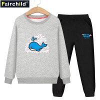 童装男童套装秋装2018新款儿童两件套男孩衣服中大童女童运动韩版