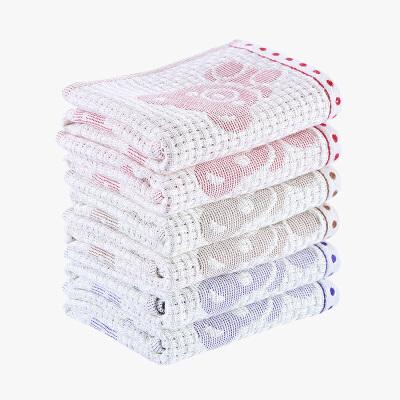 当当优品家纺毛巾纯棉子母纱小熊面巾 35x63cm当当自营