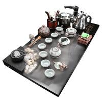 石茶�P功夫茶具套�b家用大�茶�_陶瓷紫砂喝茶海