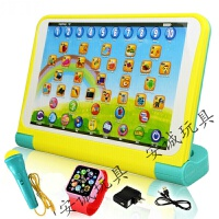 一年级拼音学习机 儿童平板电脑话筒游戏玩具宝宝学习早教拼音点读机幼儿1-6岁