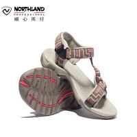 【同款】诺诗兰19新款男户外旅游沙滩鞋轻便防滑运动耐磨舒适凉鞋FS085008