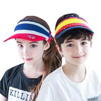 kk树新款儿童帽子宝宝夏季正品遮阳帽儿童空顶帽男女棒球帽潮