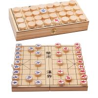 儿童中小学生培训文体用品象棋实木木质中国象棋棋盘木制橡棋