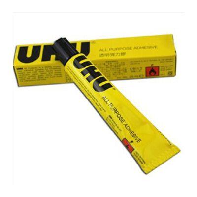 UHU 强力胶 20、35、125g友好牌透明胶模型胶diy胶水 1支125g