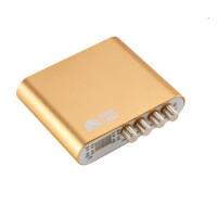 客所思K20电音外置声卡独立USB电容麦套装手机网络K歌专用调音台 金色