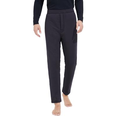 网易严选 男式舒弹棉絮片保暖裤 可机洗生态棉,柔软易打理