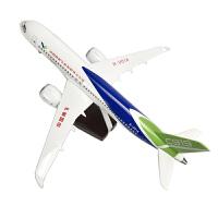 商飞C919客机飞机仿真模型新款带声控LED灯真中国商飞C919飞机模型国产客机礼品摆件