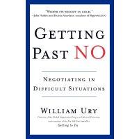 英文原版 无法说不:从对抗到合作的谈判 Getting Past No: Negotiating in Difficu