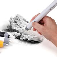 天文电动橡皮擦高光素描美术生专用自动像皮擦三件套不易留痕象皮儿童小学生画材文具用品吸橡皮檫屑吸尘器