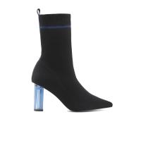 【网易严选3件3折】女式高端透明跟弹力筒靴