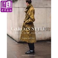 【中商原版】男士时尚街拍:纽约,巴黎,米兰,伦敦 英文原版 Gar?on Style: New York, London