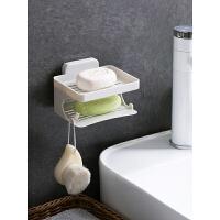 双层沥水肥皂架浴室壁挂式肥皂盒免打孔香皂架香皂盒置物架