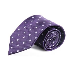 雅戈尔正品服饰配件男士商务正装正品涤丝男士领带PA70333-421