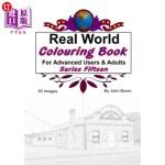 【中商海外直订】Real World Colouring Books Series 15