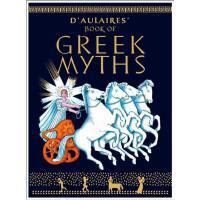 【现货】英文原版 D'Aulaire's Book of Greek Myths 多莱尔的希腊神话书 彩色插图平装版