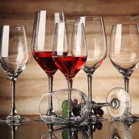 弓箭旷世六只套装无铅水晶红酒杯高脚杯白葡萄酒杯一体成型