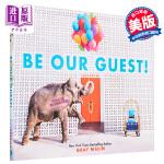 【中商原版】成为我们的客人吧!给你不一样的旅行(格雷・马林给孩子们的摄影集)英文原版 Be Our Guest!: N