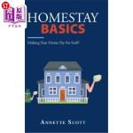 【中商海外直订】Homestay Basics: Making Your Home Pay for Itself