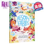 【中商原版】Marta Altes:伊索寓言 Aesop's Fables 儿童文学 故事书 名家绘本 麦克米伦 精装