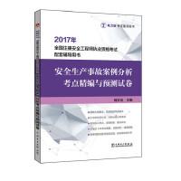 2017年全国注册安全工程师执业资格考试配套辅导用书 安全生产事故案例分析考点精编与预测试卷