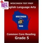 【中商海外直订】WISCONSIN TEST PREP English Language Arts Common Co