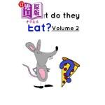 【中商海外直订】What Do They Eat? Volume 2