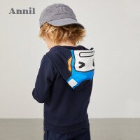 【活动价:135】安奈儿童装男小童连帽卫衣2020春季新款