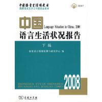 中国语言生活状况报告(2008)下编