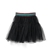 【限时购】新品女童网纱半身裙公主裙松紧腰中大童裙子