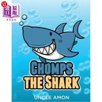 【中商海外直订】Chomps the Shark: Short Stories, Games, Jokes, and