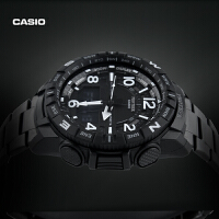 PRT-B50钛金属登山防水男手表卡西欧官网官方PROTREK