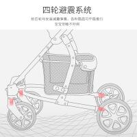 【支持礼品卡】高景观婴儿车推车轻便折叠手推车可坐躺双向可推避震BB宝宝车7db