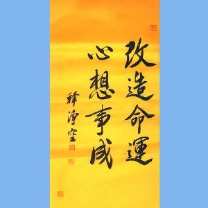 著名佛教大师,香港佛陀教育协会董事主席净空(改造命运)