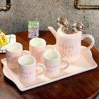 欧式陶瓷创意水具冷水壶茶具耐热客厅水杯咖啡杯茶杯家用杯子套装